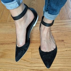 Sam Edelman flats with ankle strap